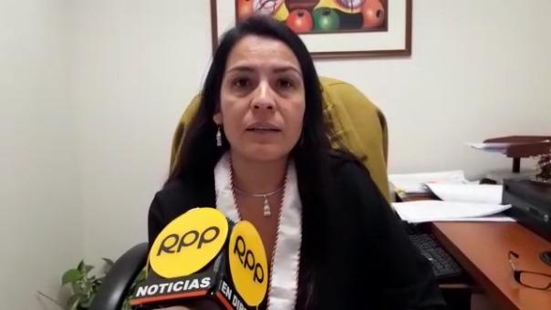 Fiscal, Ingrid Álvarez, explica su decisión.