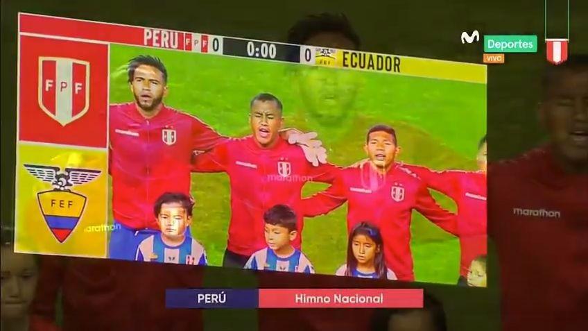 Así se cantó el Himno Nacional del Perú en el Red Bull Arena de Nueva Jersey
