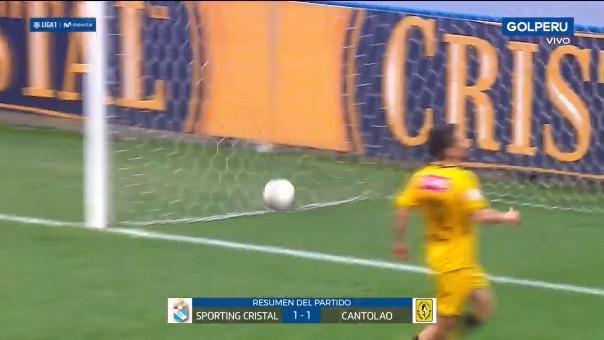 Mira el resumen de este empate entre Sporting Cristal y la Academia Cantolao.