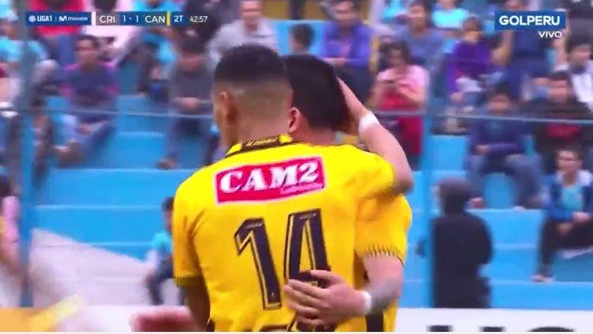 Cristal  1-1 Cantolao por la fecha 6 del Clausura
