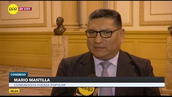 Congresista de Fuerza Popular rechazó las declaraciones de Daniel Salaverry.