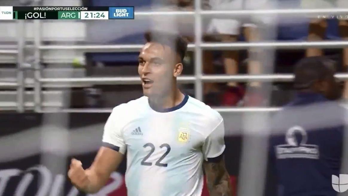 Argentina 2-0 México