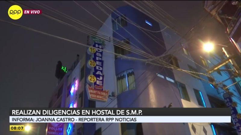 Las investigaciones continúan en el hotel Señor de Sipán, ubicado cerca del exterminal Fiori, donde fueron encontrados restos humanos.