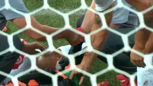 Así fue el golpe entre Víctor Cuesta y Marco Rubén.