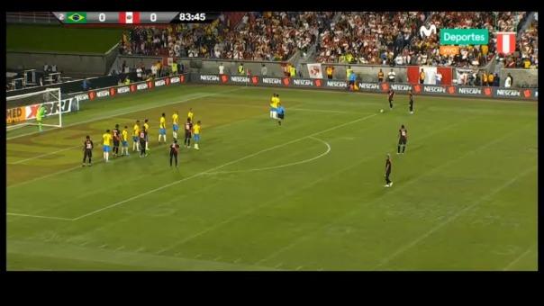 Así fue el gol de Luis Abram ante Brasil.