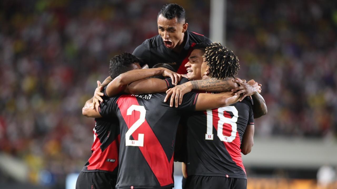 Perú venció 1-0 a Brasil en amistoso internacional
