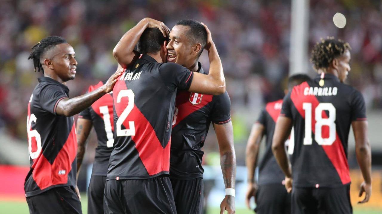 Perú venció 1-0 a Brasil por amistoso en fecha FIFA