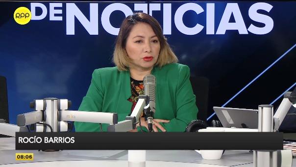 Rocío Barrios, ministra de la Producción.