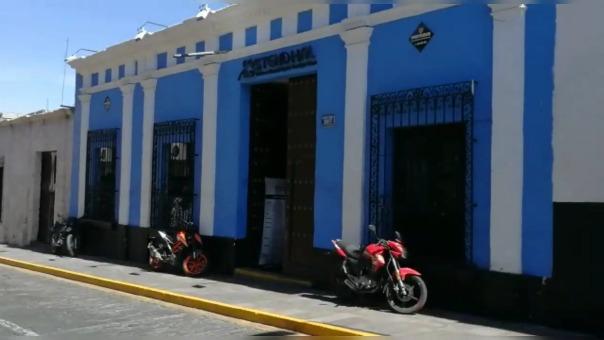 Casona ubicada en la calle Álvarez Thomas 307 donde vivió Abimael Guzmán.