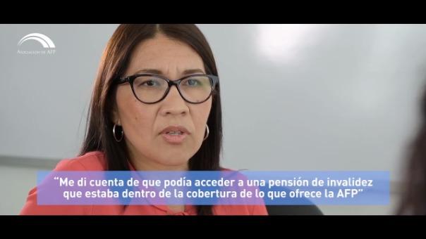 Clarisa Incio, trabajadora del Congreso, logró acceder a una pensión de invalidez