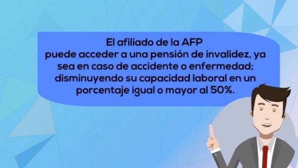 Es importante conocer el procedimiento para acceder a la pensión de invalidez que te brinda el Sistema Privado de Pensiones.