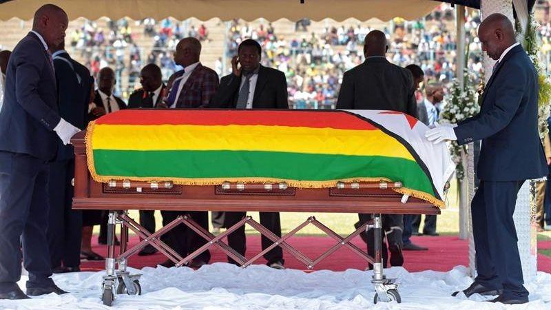 Mugabe falleció a los 95 años el pasado 6 de septiembre en un hospital de Singapur, donde estaba ingresado desde abril pasado.