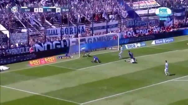 Así fue el gol de Gimnasia y Esgrima La Plata.