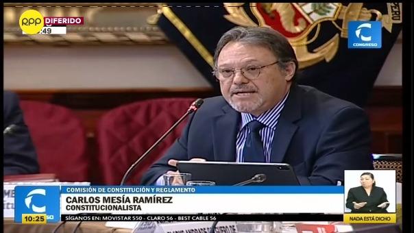 Carlos Mesía Ramírez