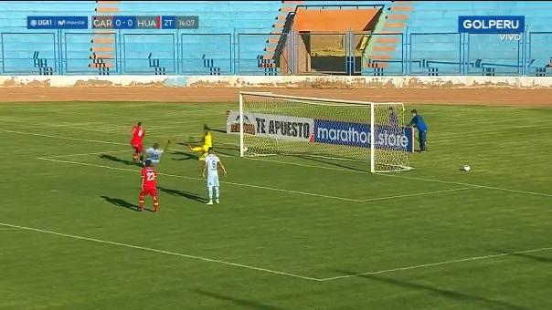 Carlos Neumann anota el 1-0 para Sport Huancayo ante Real Garcilaso por la Liga 1