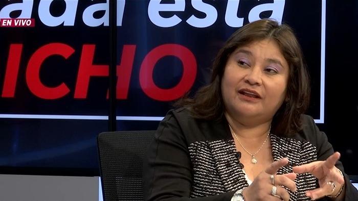 Janet Sánchez, presidenta de la Comisión de Ética