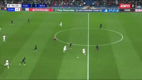 Así fue el gol de Thomas Meunier.