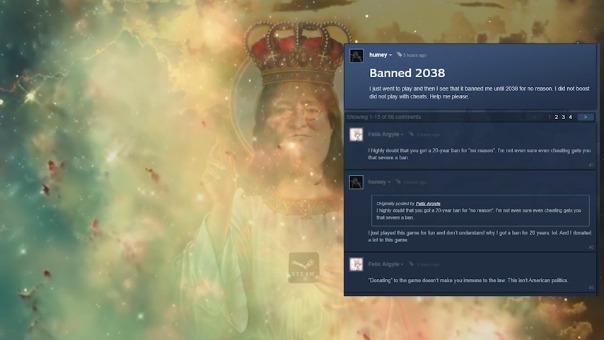 Un usuario hizo este video recopilando las publicaciones en los foros de Steam tras el anuncio del 'ban' masivo.