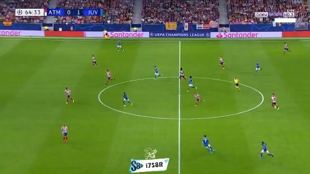 Así fue el gol de Blaise Matuidi.