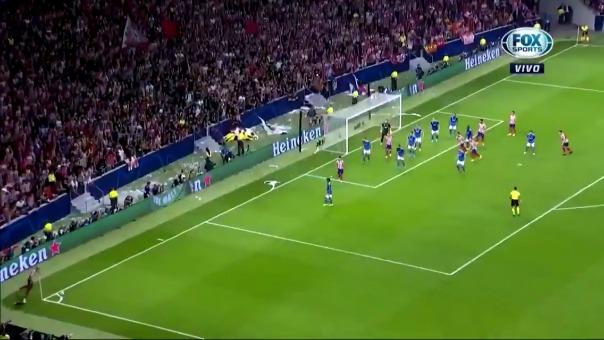 Así fue el gol del empate de Héctor Herrera