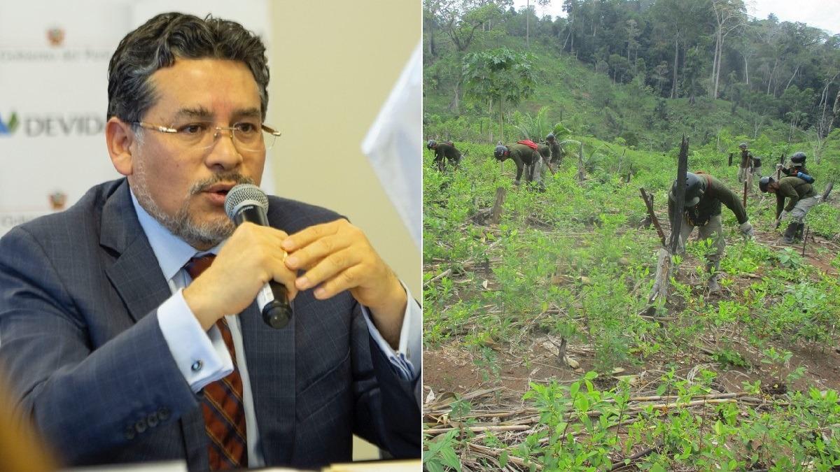 Rubén Vargas, presidente ejecutivo de la Comisión Nacional para el Desarrollo y Vida sin Drogas (Devida).