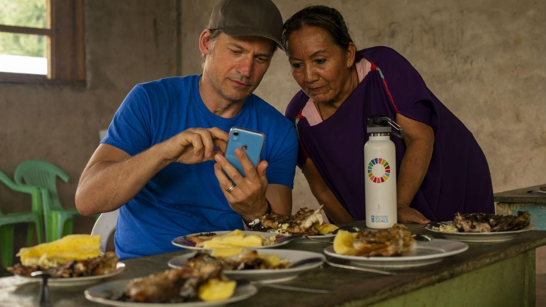 Mira un fragmento del mini documental que Nikolaj Coster-Waldau grabó en Perú para el PNUD.