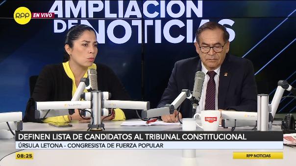 Comisión Especial presentó a los candidatos para el Tribunal Constitucional.