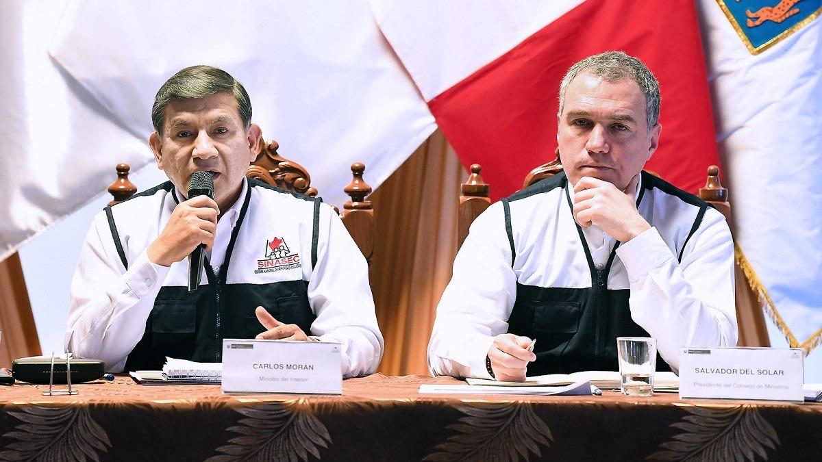 Ministros participaron del II Reunión Descentralizada del Conasec.