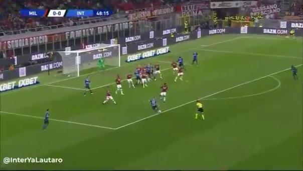 Así fue la jugada que terminó en el gol de Marcelo Brozovic.