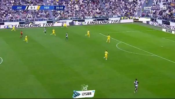 Así fue el gol del empate de Ramsey.