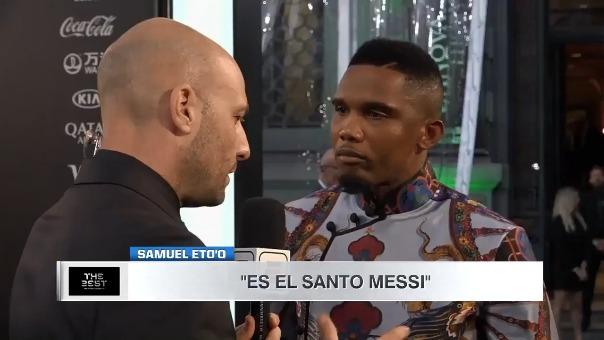 Samuel Eto´o sobre Barcelona:
