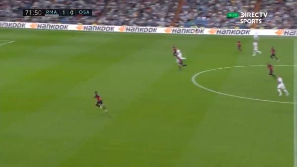El delantero de Real Madrid puso el segundo tanto del encuentro.