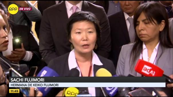 Declaraciones de Sachi Fujimori