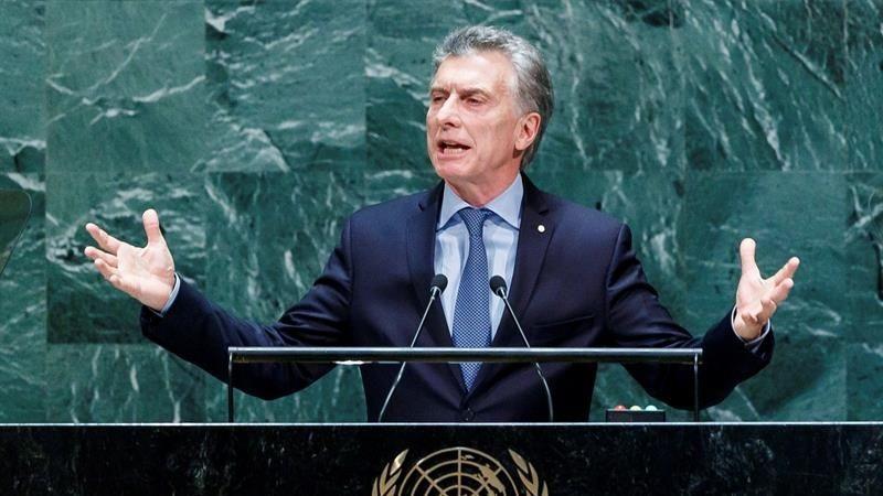 Mauricio Macri brindó estas declaraciones ante la Asamblea General de la ONU.