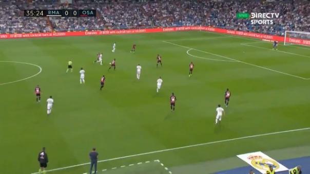 Vinícius Jr abrió el marcador para Real Madrid ante Osasuna por LaLiga