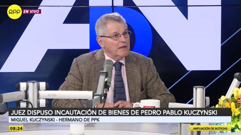 Miguel Kuczynski estuvo esta mañana en Ampliación de Noticias.