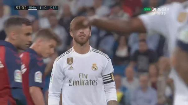 Así fue el gol de Luka Jovic que fue anulado.
