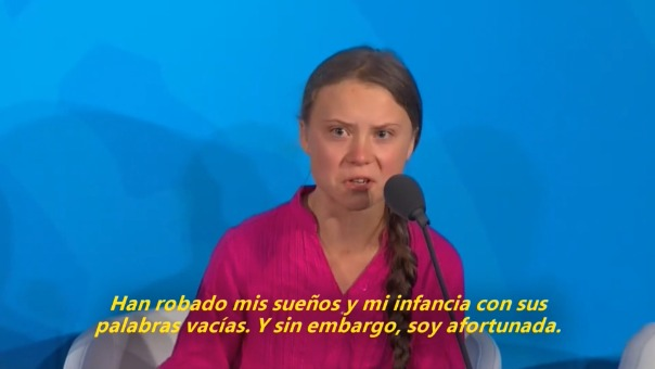 Así fue el discurso de Greta Thunberg ante los líderes reunidos en la ONU