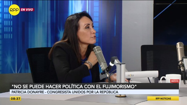 Patricia Donayre fue congresista de Fuerza Popular.
