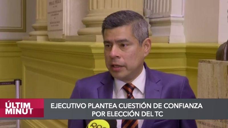 Luis Galarreta en entrevista con RPP Noticias.