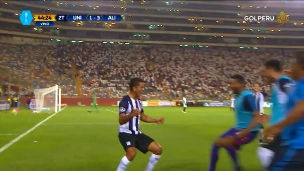 Así fue el último tanto Alianza Lima en el Estadio Monumental, marcado por Janio Pósito.