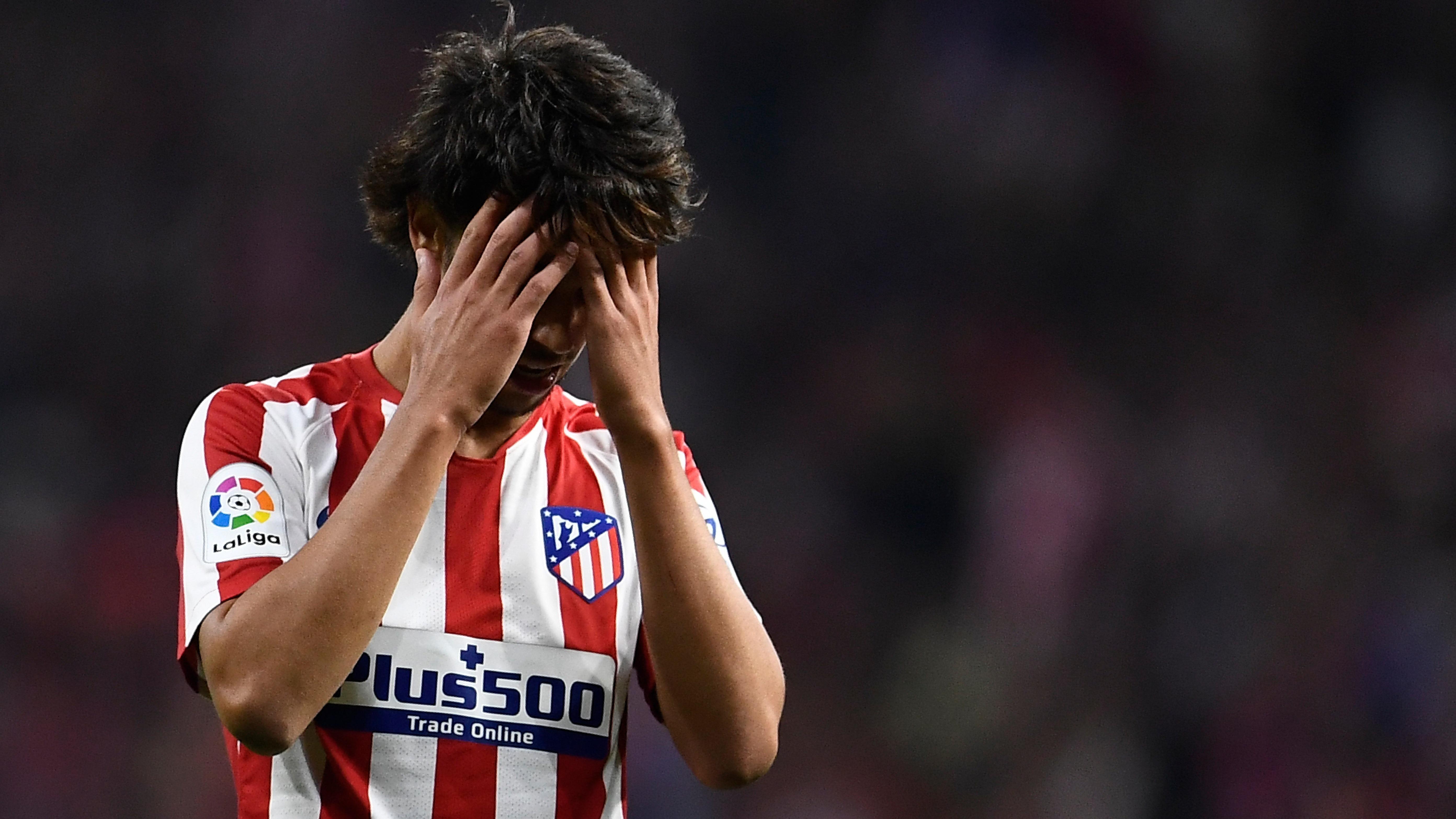 El delantero de Atlético de Madrid por poco abre el marcador.