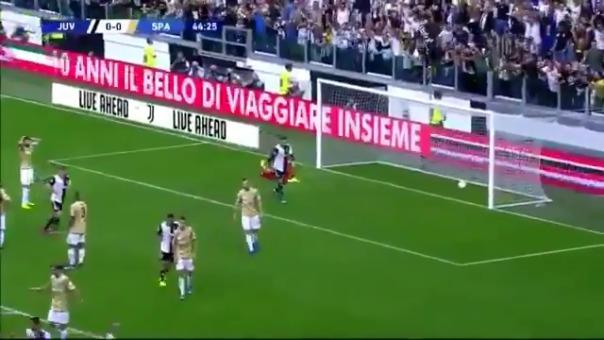 Así fue el gol de Miralem Pjanic contra el SPAL.