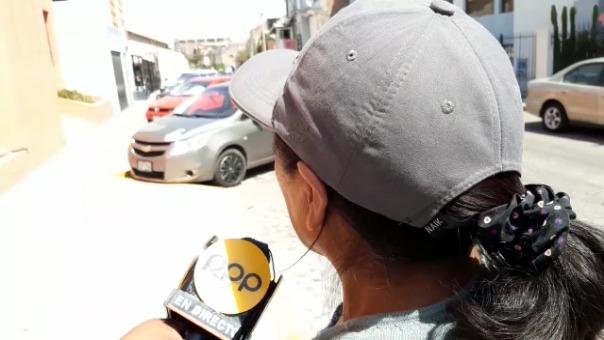 Madre del adolescente de 17 años que también denunció a Carlos Mamani Huacoto.