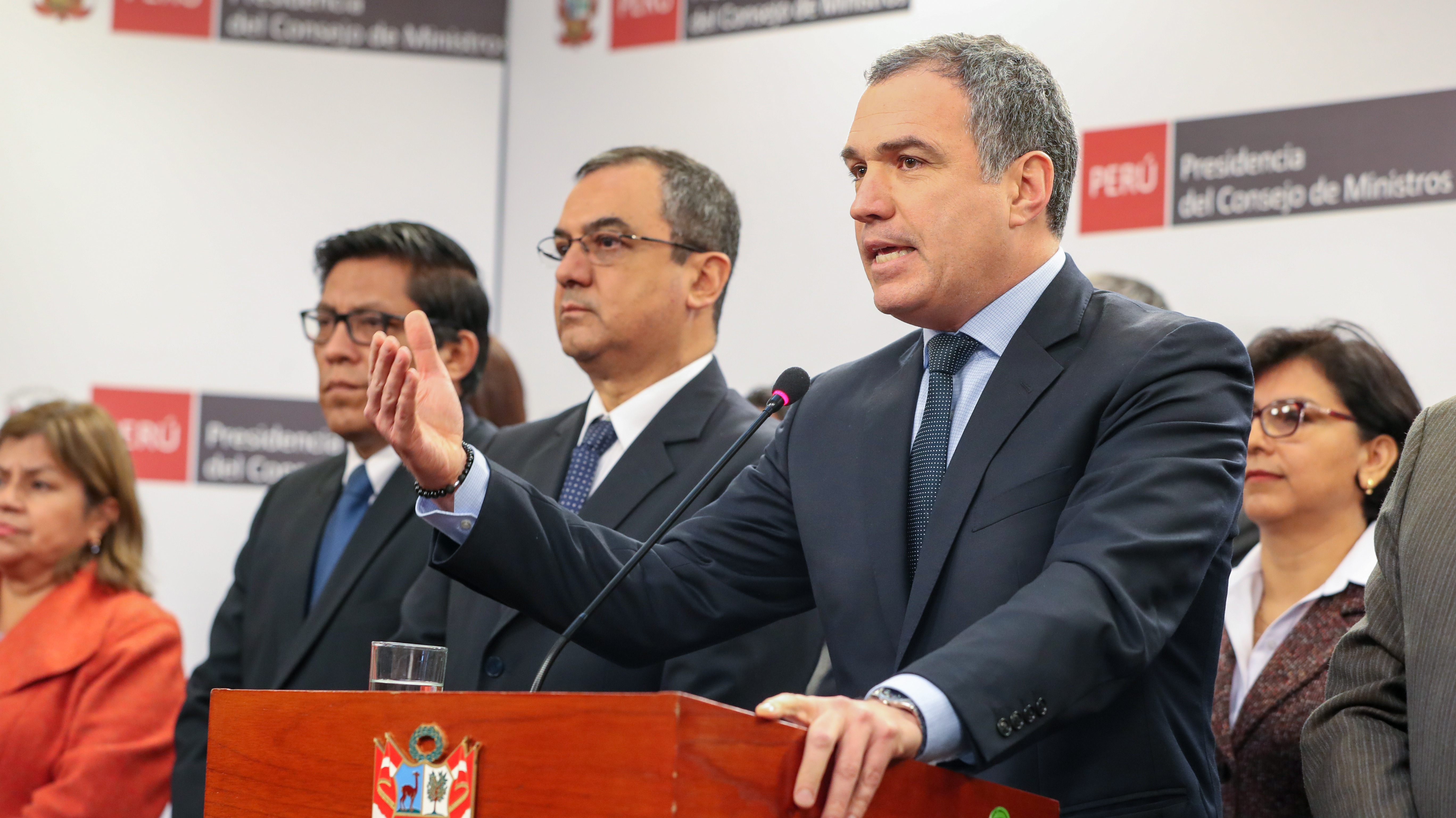 Ministros asistieron a Consejo de Ministros