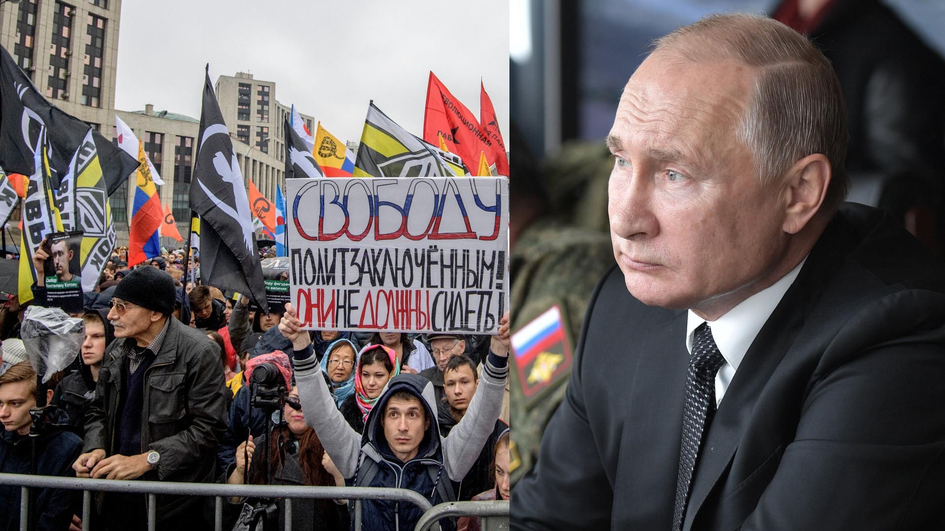 Opositores rusos