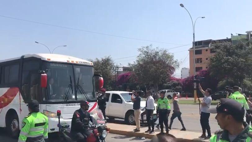Así fue la llegada de Alianza Lima al Monumental
