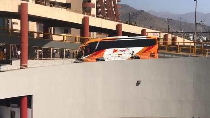 Así fue la llegada de Universitario al estadio Monumental