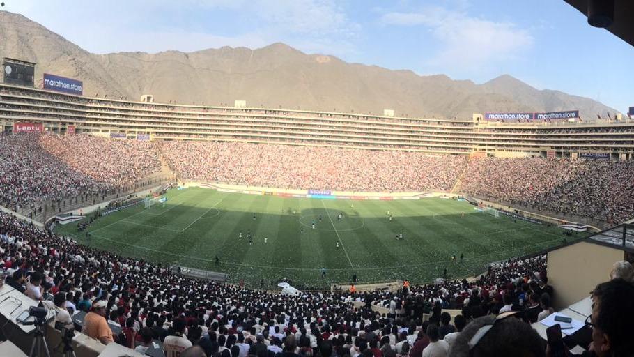 Así luce el estadio Monumental en el Universitario vs. Alianza Lima