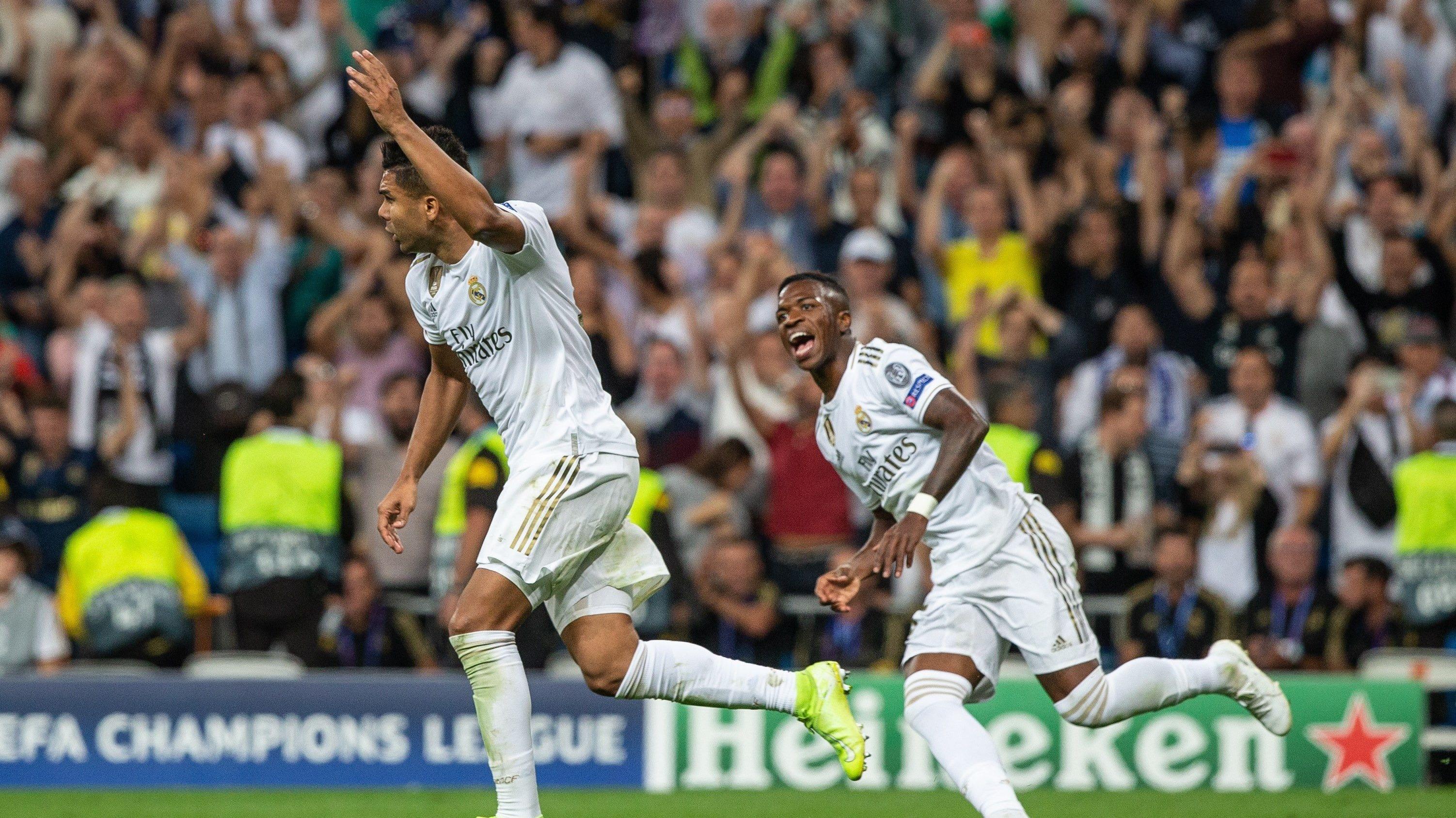 Real Madrid igualó 2-2 con Brujas por la Champions League